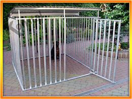 Kutyakennelek KAJTEK - 2x2 m
