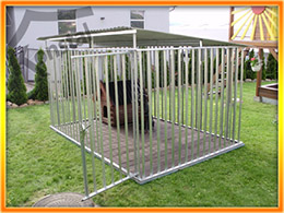 Kutyakennel PLUTO - 3x2 m