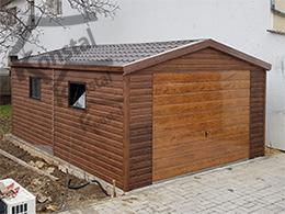 4x5 két oldalra lejtő tető EXTRALINE + bukó ablakok